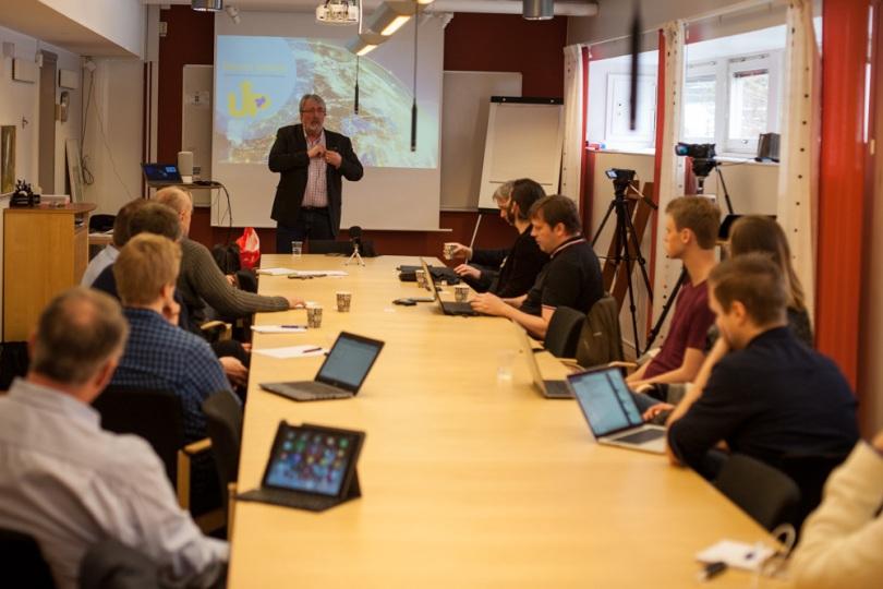 Thor Pettersen föreläser om blockchain hos Västra Götalandsregionen