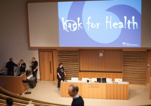 Strax invigs Hack For Health 2017 av Anette Falkenroth
