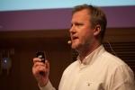 Johan Hoffman föreläste om hur gamification kan användas för att påverka