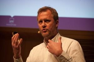 Johan Hoffman på Sahlgrenskas Hack For Health 2017