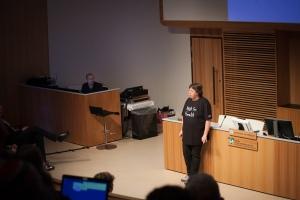 Anette Falkenrot inviger Hack For Health 2017
