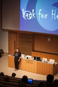 Anette Falkenrot inviger Hack For Health 2017